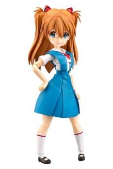 Rebuild of Evangelion Parfom R! Actionfigur Asuka Shikinami Langley School Uniform Ver. 14 cm