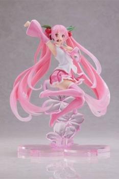 Vocaloid PVC Statue Hatsune Miku Sakura Miku A Jump Ver. 20 cm