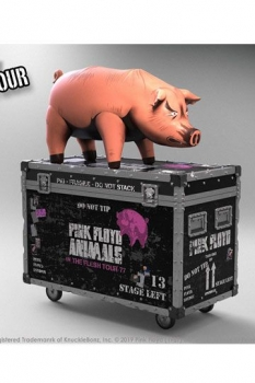 Pink Floyd Rock Ikonz On Tour Statuen The Pig