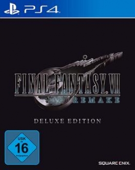 Final Fantasy VII  HD Remake  DeLuxe Edition - Playstation 4