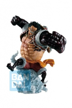 One Piece Ichibansho PVC Statue Ruffy Gear 4 Bounceman (Battle Memories) 21 cm