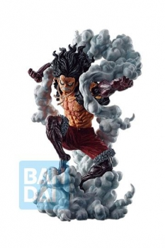 One Piece Ichibansho PVC Statue Ruffy Gear 4 Snakeman (Battle Memories) 23 cm