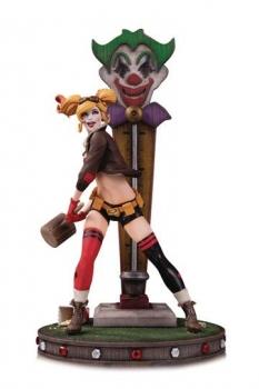 DC Bombshells Statue Harley Quinn DLX Version 2 34 cm