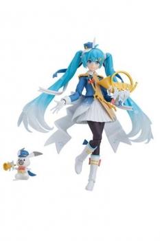 Character Vocal Series 01: Hatsune Miku Figma Actionfigur Snow Miku Snow Parade Ver. 13 cm