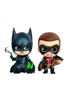 Batman Forever Cosbaby Minifiguren Doppelpack Batman & Robin 11 cm