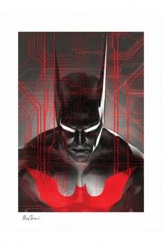 DC Comics Kunstdruck Batman Beyond 46 x 61 cm - ungerahmt