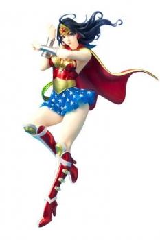 DC Comics Bishoujo PVC Statue 1/7 Armored Wonder Woman 2nd Edition 24 cm
