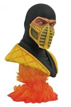Mortal Kombat Legends in 3D Büste 1/2 Scorpion 25 cm