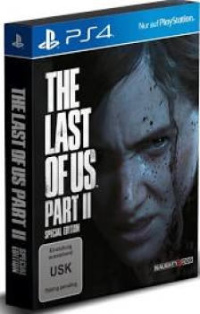 The Last of US  Part II  Special Edition  - Playstation 4 The Last of Us 2