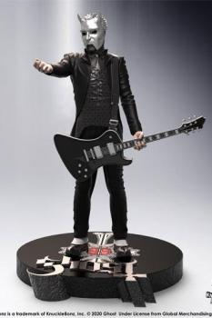 Ghost Rock Iconz Statue Nameless Ghoul (Black Guitar) Limited Edition 22 cm auf 3000 Stück limitiert.
