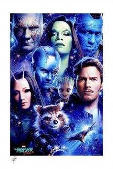 Marvel Kunstdruck Guardians of the Galaxy Vol 2 46 x 61 cm - ungerahmt Weltweit limitiert auf 400 Stück!