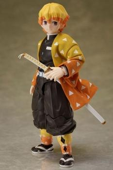 Demon Slayer: Kimetsu no Yaiba Actionfigur 1/12 Zenitsu Agatsuma 14 cm