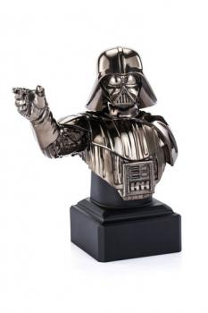 Star Wars Episode XI Pewter Collectible Büste Black Darth Vader Limited Edition 21 cm Limitiert auf 500 Stück.