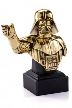 Star Wars Episode XI Pewter Collectible Büste Gilt Darth Vader Limited Edition (vergoldet) 21 cm Limitiert auf 300 Stück.