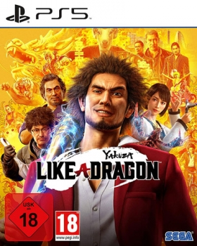 Yakuza 7 like a Dragon Playstation 5
