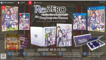RE:Zero Prophecy of the Throne  C Collectors Edition Nintendo Switch