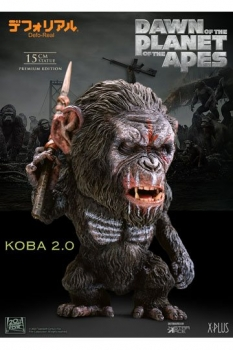 Planet der Affen: Revolution Deform Real Series Soft Vinyl Statue Koba Spear Ver. 15 cm