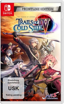 Trails of Cold Steel 4 Legends of Heroes Frontline Edition Nintendo Switch