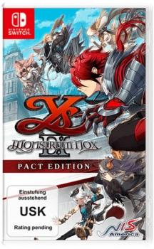 Ys IX Monstrum Nox Pact Edition . Nintendo Switch