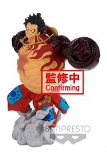 One Piece BWFC 3 Super Master Stars Piece Statue Monkey D. Ruffy Gear4 The Original 22 cm
