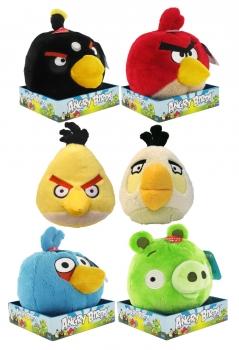 Angry Birds Plüschfiguren mit Sound Display 20 cm