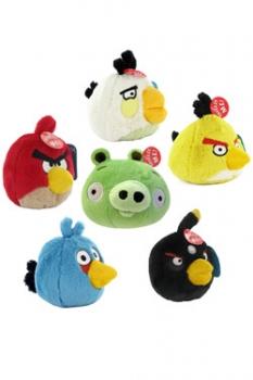 Angry Birds Plüschfiguren mit Sound Display 12 cm