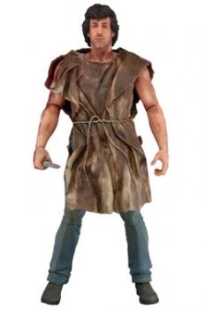 Rambo Deluxe Actionfigur John Rambo Survival Version 17 cm