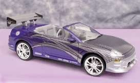 2 Fast 2 Furious Diecast Modell 1/43 2001 Mitsubishi Eclipse Spyder