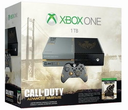 X-BOX One Konsole 1 TB + CoD: Advanced Warfare
