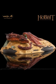 Der Hobbit Smaugs Einöde Statue Smaug King Under The Mountain 8 cm