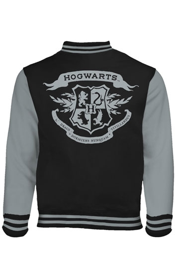 harry potter baseball jacke hogwarts crest. Black Bedroom Furniture Sets. Home Design Ideas