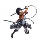 Attack on Titan Hdge Technical Statue 1/6 Mikasa Ackerman Training Corps Ver. 20 cm