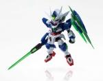 Mobile Suit Gundam 00 the Movie NXEDGE STYLE Actionfigur MS Unit 00 Qan(T) 9 cm