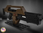Aliens Replik 1/1 Pulse Rifle Brown Bess 68 cm