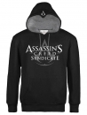 Assassins Creed Syndicate Kapuzenpullover Logo Black
