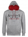 Assassins Creed Syndicate Kapuzenpullover Logo Grey