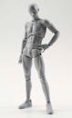 S.H. Figuarts Actionfigur Man Deluxe Set Grey Version 15 cm