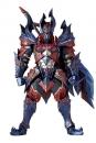 Monster Hunter X Vulcanlog Actionfigur Male Swordsman Dino Series 18 cm