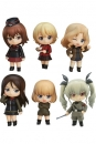 Girls und Panzer der Film Mini-Figuren Nendoroid Petite 6er-Pack Other High Schools Ver. 7 cm
