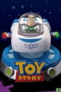 Toy Story Egg Attack Schwebe-Modell mit Leuchtfunktion Buzz Spaceship 13 cm