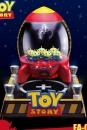 Toy Story Egg Attack Schwebe-Modell mit Leuchtfunktion Aliens Rocket 18 cm