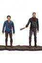 The Walking Dead TV Version Actionfiguren Doppelpack Negan & Glenn 13 cm