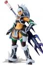 Monster Hunter X Vulcanlog Monhan Revo Actionfigur Hunter Swordswoman Kirin U Series 16 cm