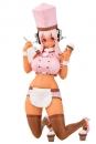 Super Sonico Nama PVC Statue 1/6 Super Sonico Patissier Strawberry Choco Ver. 20 cm