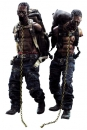 The Walking Dead Actionfiguren 1/6 Michonne´s Pet Walker Twin Pack 30 cm