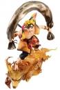 Naruto Shippuden G.E.M. Remix Serie PVC Statue 1/8 Naruto Uzumaki Fujin 18 cm