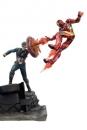 Captain America Civil War Premium Motion Statue Captain America vs Iron Man 43 cm