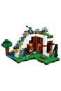 LEGO® Minecraft™ Unterschlupf im Wasserfall