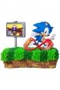 Sonic the Hedgehog Diorama 25th Anniversary Sonic 33 cm