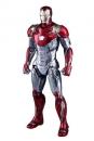 Spider-Man Homecoming Movie Masterpiece Diecast Actionfigur 1/6 Iron Man Mark XLVII 32 cm